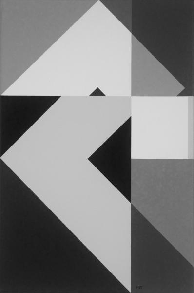 compositie zonder titel nr. 2015-8, 80x60cm.
