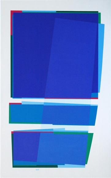 nr.2007-5, compositie zonder titel, 50x80cm.