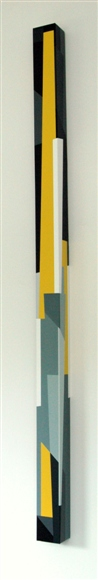 nr.2007-7,compositie zonder titel, 210x10x10cm.