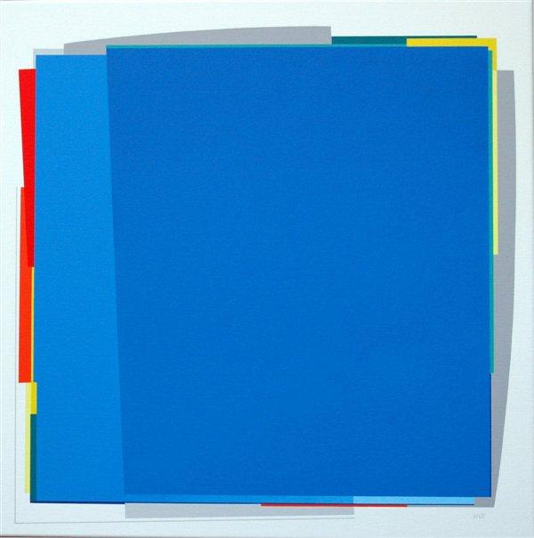 nr.2007-9 , compositie zonder titel, 70x70cm.