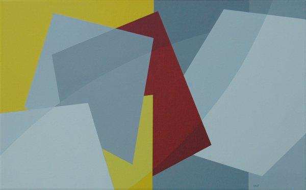 nr. 2007-11 , compositie zonder titel, 50x80cm.