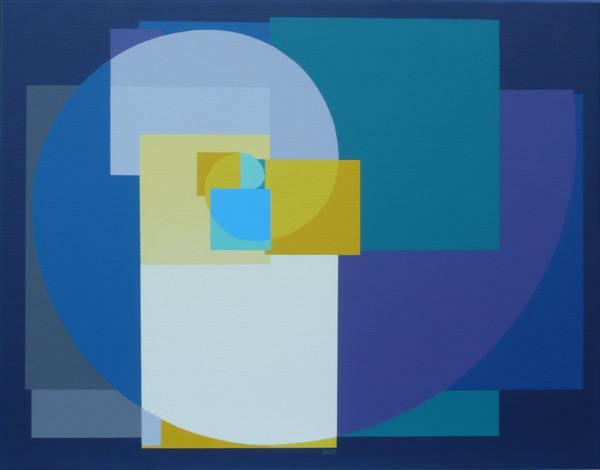 nr. 2007-13, compositie zonder titel, 55x70cm.