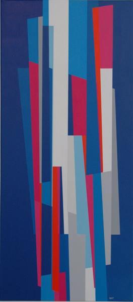 nr.2007-10, compositie zonder titel, 100x60cm.