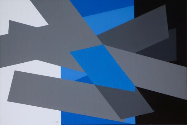 comp. zonder titel nr. 2017-2, 40 x 60 cm.