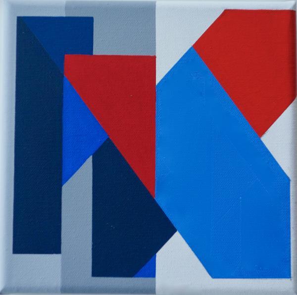 IK, comp. zonder titel nr. 2017-4, 20 x 20 cm.