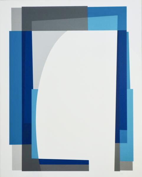comp. zonder titel nr. 2017-9, 80 x 100 cm.