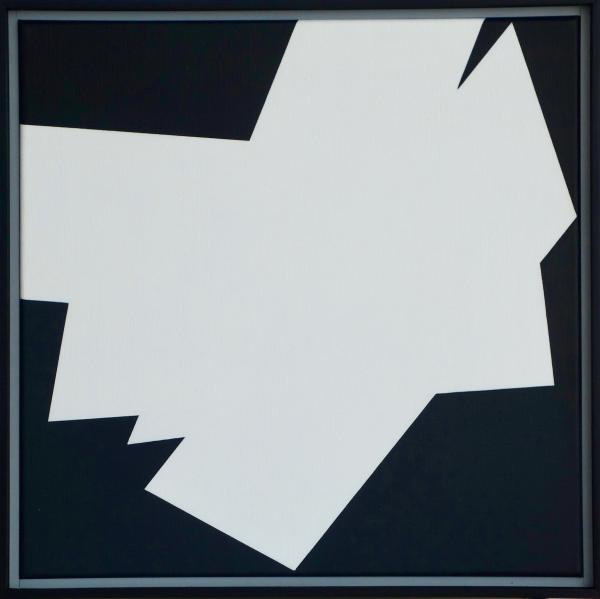 comp. zonder titel nr. 2017-10, 40 x 40 cm.
