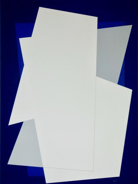 comp. zonder titel nr. 2017-13, 60 x 80 cm.