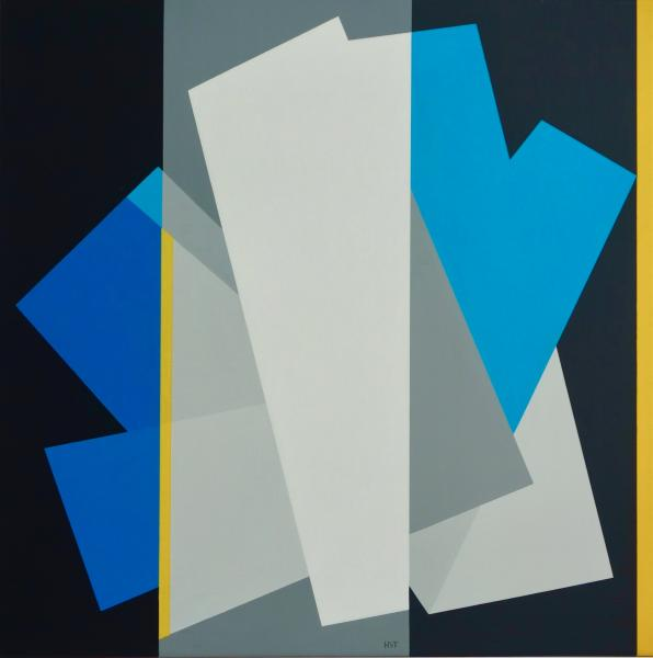 compositie zonder titel nr. 2015-5, herzien 2018, 70x70cm.