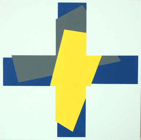 nr. 2008-12, compositie zonder titel, 23x23 cm.
