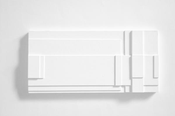 relief,comp. z.t. nr. 2019-3, 18x30 cm.