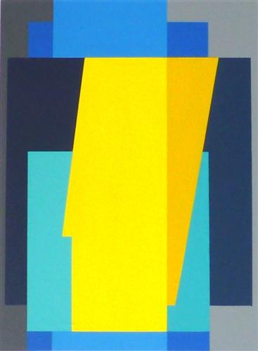 compositie zonder titel, nr. 2010-2, 30 x 22,2 cm.