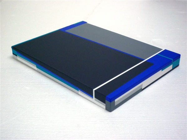 compositie zonder titel, nr 2011-2 C, 30x40 cm.