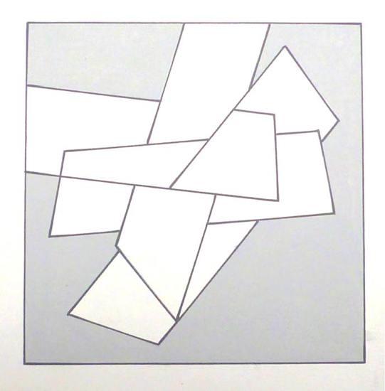 comp. zonder titel nr. 2012-5, 20x20 cm.