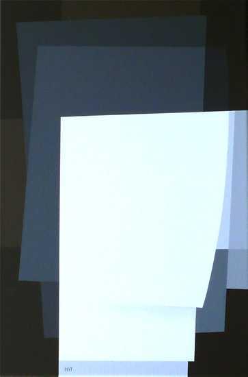 compositie zonder titel nr. 2013-1, 40x60cm.