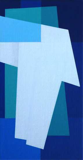 compositie zonder titel,nr. 2013-3, 26,2x13,8  cm.