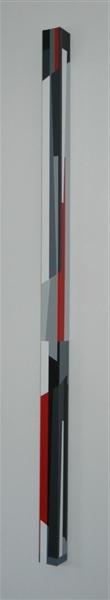 nr.2006-12 links , 208x8x8cm.