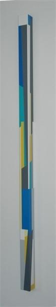 nr.2006-13 links , 208x8x8cm.